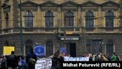 Protesti u Sarajevu 24. februara