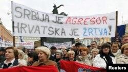 Prosvjedi zbog hapšenja Tihomira Purde, Zagreb, 15. januara 2011