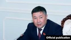 Депутат парламента Кыргызстана Канатбек Исаев.