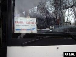 Autobuzul Praga-Chişinău