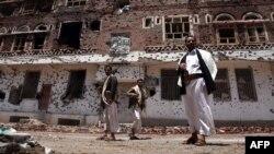 Йемен астанасы Сананың көрінісі. 10 сәуір 2012 жыл. (Көрнекі сурет)