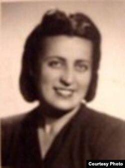 Sofia Cosma în ajunul deportării în Gulag