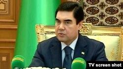 Түркіменстан президенті Құрбанғұлы Бердімұхамедов.