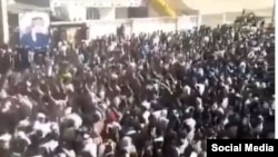 Protests in Ahvaz, capital of Iran's oil-rich Khuzestan province. Nov. 10-11, 2019