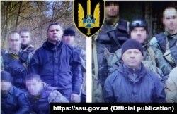 Игорь Егоров в Киеве на встрече с представителями украинской разведки. Фотографии обнародованы Службой безопасности Украины