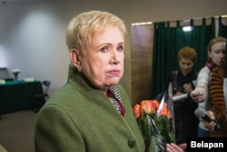 """Lidziya Yarmoshyna has been the head of the Central Election Commission for 20 years. """"The truth is determined by the vote count,"""" she says."""