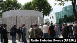Obilježavanje stradanja u Omarskoj, 9. maj 2011, foto: Erduan Katana