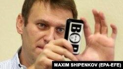 Оппозиционер Алексей Навальный