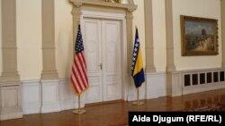 Zastava SAD-a i BiH