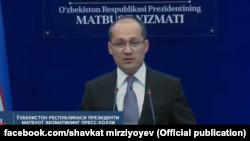 Президент матбуот котиби Комилжон Алламжонов