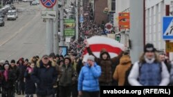 «Марш недармаедаў» уВіцебску 26лютага