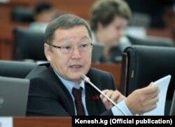 Экс-министр энергетики Осмонбек Артыкбаев.