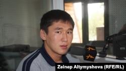 Рашид Абыканов чемпион Азии по греко-римской борьбе.