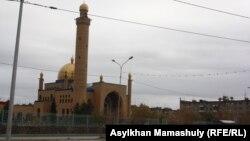 Сәтбаев қаласындағы мешіт. Көрнекі сурет.