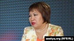 Адвокат Гульнар Жуаспаева.