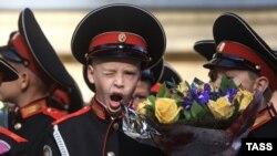 Вихованці Павловської кадетської школи, архівне фото