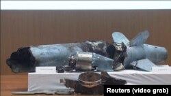 Na konferenciji za novinare 18. septembra 2019. u Rijadu u Saudijskoj Arabiji prikazani su ostaci bespilotne letelice i rakete