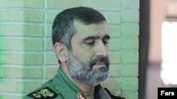 سرتيپ پاسدار امير علی حاجی زاده، فرمانده نيروی هوا- فضای سپاه پاسداران.