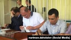 Ильми Умеров (у) мәхкәмәдә. 11 август, 2016