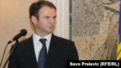 Косовскиот вицепремиер и министер за правда Хајредин Кучи.