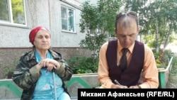 Проводница Анна Киреева и Михаил Афанасьев. 2018 г.