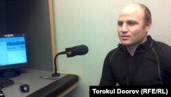 """М.Кулешов """"Азаттыктын"""" студиясында, 21-декабрь, 2011"""