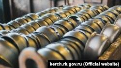 Продукция Керченского металлургического комплекса, архивное фото