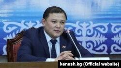Спикер Жогорку Кенеша Дастан Джумабеков.