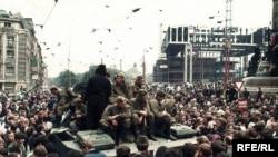 1968-жылдын августу. Прага шаарынын Вацлав аянты.