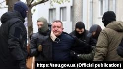 Задержание Валерия Шайтанова 14 апреля этого года