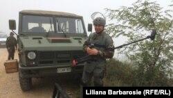 Militarii moldoveni în misiune de pacificare în Kosovo