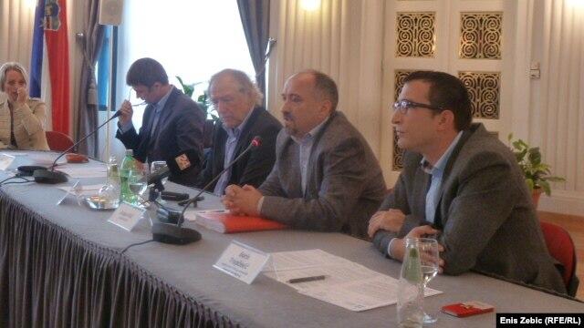 Novinarsko društvo, sindikat i poslodavci na skupu u Zagrebu, 5. studeni 2012.