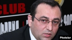 Депутат от АРФ «Дашнакцутюн» Арцвик Минасян (архив)