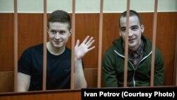 Виктор Филинков (слева) и Юлий Бояршинов