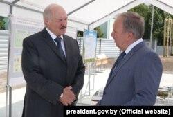 Аляксандар Лукашэнка і Васіль Жарко