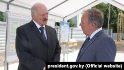 Аляксандар Лукашэнка і Васіль Жарко (архіўнае фота)