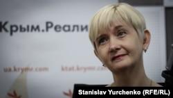 Кримський історик, політолог Євгенія Горюнова