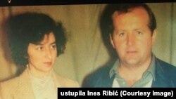 Mi smo cijelo vrijeme bili tu, i kad su tatu odveli i kad su mamu ubili: Ines Ribić; na fotografiji majka i otac Slavica i Ibrahim