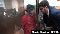 Самариддин Раджабов и его адвокат в суде