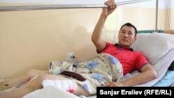 Автандил Тынышов Бишкектеги №4 ооруканада жатат. 23-июнь, 2015-жыл