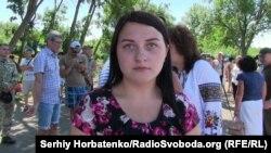 Инна Юзько, сестра погибшего под Славянском бойца АТО