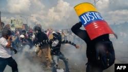 Opozicija u Venecueli svakodnevno održava proteste od 1. aprila