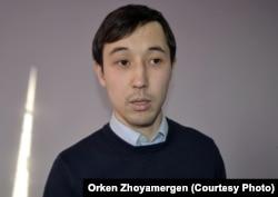 Координатор общественного фонда WikiBilim Нурбек Матжани.