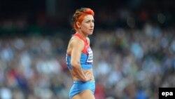 Tatyana Lebedeva at the 2012 Olympics in London