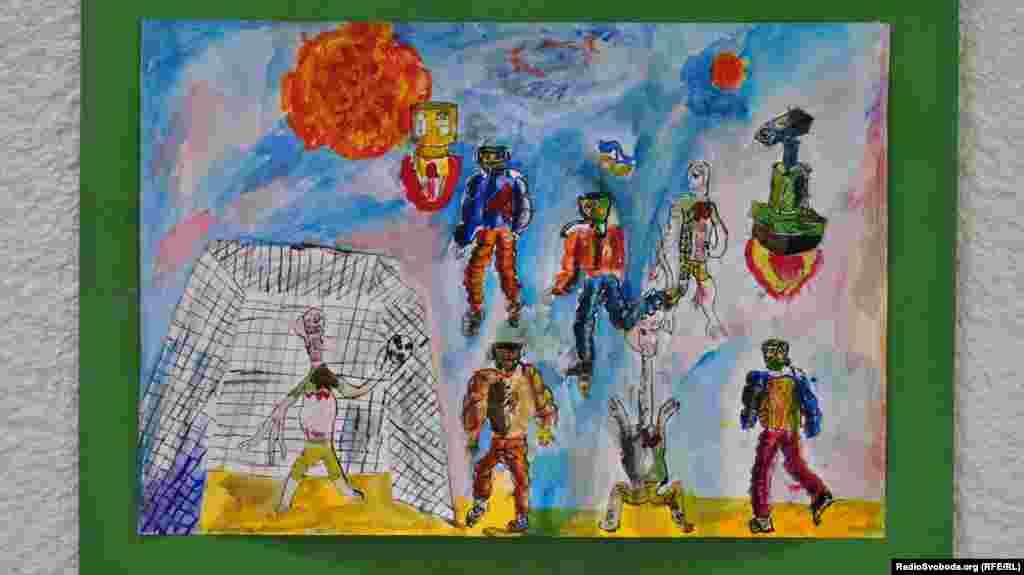 «Футбол та фантазія», Роман Дзвоник, 10 років