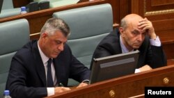 Isa Mustafa dhe Hashim Thaçi