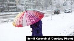 У Києві очікується хмарна погода, вдень мокрий сніг і дощ