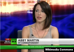 Abby Martin is a Washington-based correspondent for RT.