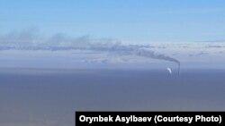 Смог над Бишкеком.