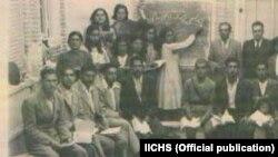 تصویری از یک کلاس درس در دوران «حکومت ملی آذربایجان»